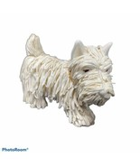 West Highland Terrier Dog Figurine Standing Westie Studio Art Pottery Vtg - $59.99
