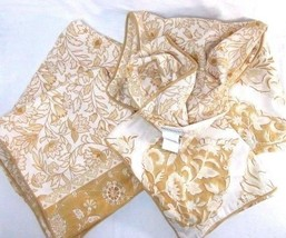 Pottery Barn Floral Tuscan 5-PC Euro Standard Pillow Shams and Pillow Cover - $102.00