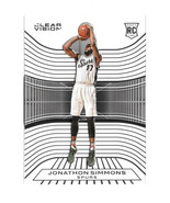 2015-16 Jonathon Simmons Panini Clear Vision Rookie - Spurs - $1.19