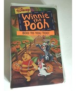 Disney's Winnie the Pooh - Boo to You Too VHS Halloween - $9.85