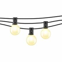 Mr Beams 1W G40 Globe Bulb LED Weatherproof Indoor/Outdoor String Lights, 50 fee image 1