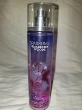 Bath & Body Works Sparkling Blackberry Woods Fragrance Mist Spray Full Sz 8 Oz - $17.75