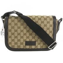 NEW GUCCI 449172 GG Guccissima Medium Canvas Messenger Bag - $1,075.00