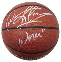 "Dennis Rodman Signed Spalding NBA Indoor/Outdoor Basketball w/ ""Worm"" - $155.00"