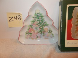 PRECIOUS MOMENTS CANDY DISH  BY ENESCO 1993. - $15.99