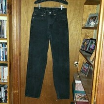 Mens Levi's 550 Black Jeans Pants - Size 31 / 34  - $19.99