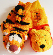 Tokyo Disney Resort Winnie the Pooh & Tiger Mitten Gloves TDL Cold weather - $56.43
