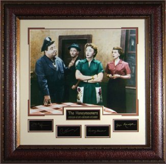 Primary image for The Honeymooners unsigned 31x32 Cast Photo Engraved Signature Series