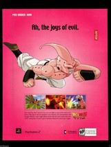 Original 2003 Print Ad DRAGON BALL Z - Budokai 2 PS2  Video Game Adverti... - $7.59