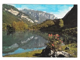 Trentino Italy Lago de Tenno S Tyrol Lake Panorama Brunner & Co 4X6 Post... - $4.99