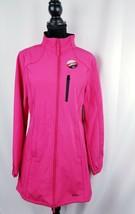 Fila  Venture  women Long Bonded Jacket Coat  Pink  Sz Large Water Repel... - $58.17