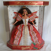 Happy Holiday Barbie Doll 10th Anniversary Special Edition Christmas 199... - $39.95
