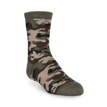 Boy's Camouflage Crew Socks-Traditional Army Green-army pride-Shoe Size ... - $7.42