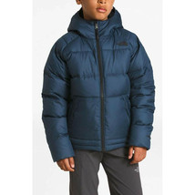 The North Face Boy's Moondoggy 2.0 Down Hoodie - Shady Blue - XS - $147.51