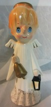 Vintage blue eye angel ringing bell - Japan  - $47.50