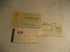 Vintage 1949 Chicago & Southern Airlines Passenger Ticket Receipt stub ... - $19.79