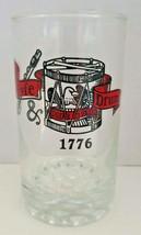 Vintage 1970's 1776 fyfe & drum genesee brewery barware glass 10 oz. pil... - $16.99