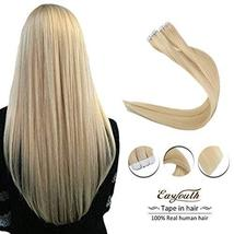 Easyouth Skin Weft Tape Remy Hair Invisible 16inch Colored 22 Natural Brazilian  image 2