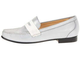 Women's Shoes Cole Haan MONROE PENNY Loafers Moccasins Argento Reflect Gray - $88.20