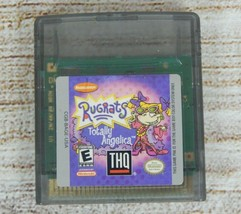 Nintendo Gameboy Color Video Game Rugrats : Totally Angelica 1998 Cartri... - $5.87