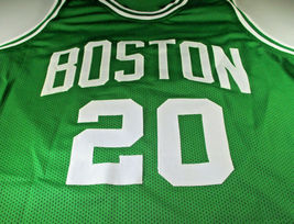 GORDON HAYWARD / BOSTON CELTICS / HAND SIGNED BOSTON CELTICS CUSTOM JERSEY / COA image 2