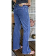 Ann Taylor Loft Stretch Jeans Boot Cut size 6 Medium Blue Denim w/ 1% sp... - $19.75