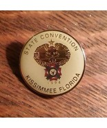 VFW Lapel Pin - Vintage 1994 Veterans Foreign Wars Kissimmee FL State Co... - $29.69