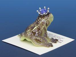 Birthstone Frog Prince Kissing June Alexandrite Miniatures by Hagen-Renaker image 3