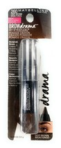 Maybelline Brow Drama By EyeStudio Pomade Crayon #260 Deep Brown .04 oz  - $8.14