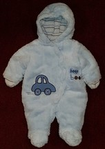 Miniwear RN 67391 - Baby Blue Newborn/Infant Hooded Snowsuit - Size: 0-3... - $14.50
