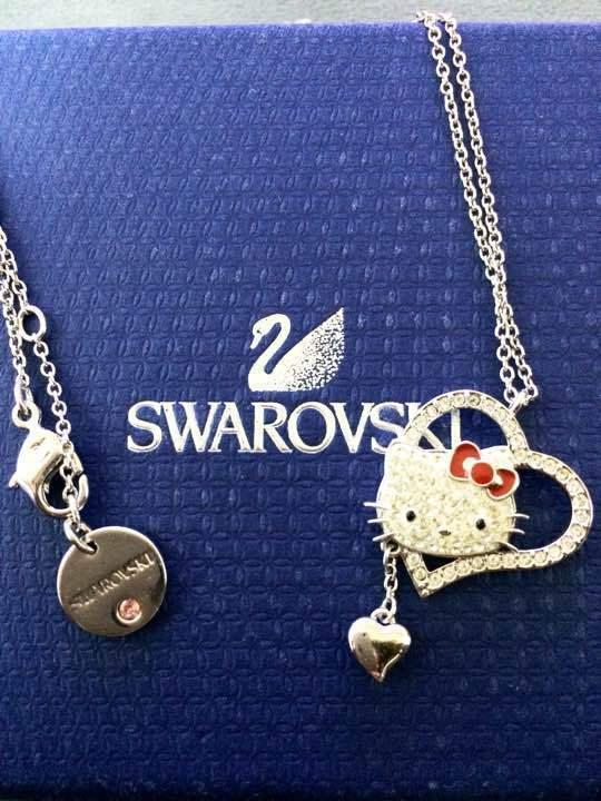 4e7544ce2 Swarovski x Hello Kitty Heart Pendant and similar items. S l1600