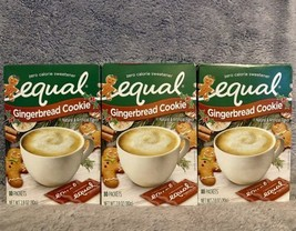 Equal Gingerbread Cookie Flavored Sweetener 80 Count Exp 9/2021, Lot Of 3 - $33.99