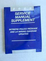2002 Dodge Intrepid Police Service Manual Supplement OEM Factory Dealer Shop Set - $2.60