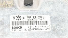 Volkswagen Passat 4.0 W8 ECM ECU Engine Control Computer Module 07D906018E image 4