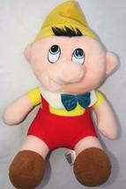"Pinocchio Plush Doll Walt Disney Animated Classic Film 6"" Vintage 1985 Stuffed - $29.94"
