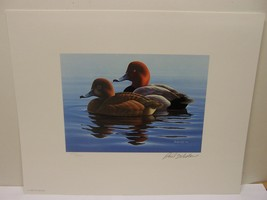 Minnesota 1982 Duck Stamp Print Phil Scholer Ducks Unlimited Signed with... - $39.59