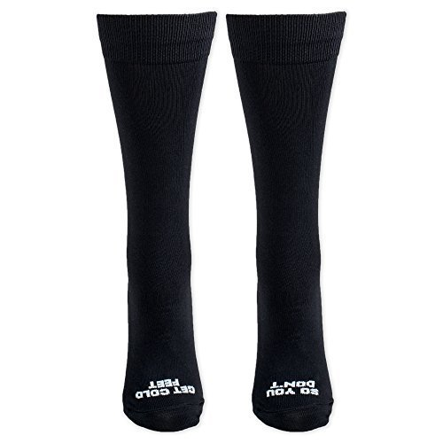 So You Don't Get Cold Feet Black Groom Wedding Day Socks