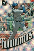 #D4 Manny Machado Los Angeles 2019 Panini Donruss MLB Baseball Card AAH - $2.02