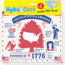 New Paper Towel Alternative United States of America Reusable Washable Hydroclot