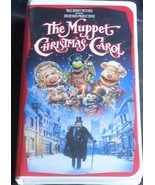 The Muppet Christmas Carol - Walt Disney Feature - Gently Used VHS Clams... - $7.91