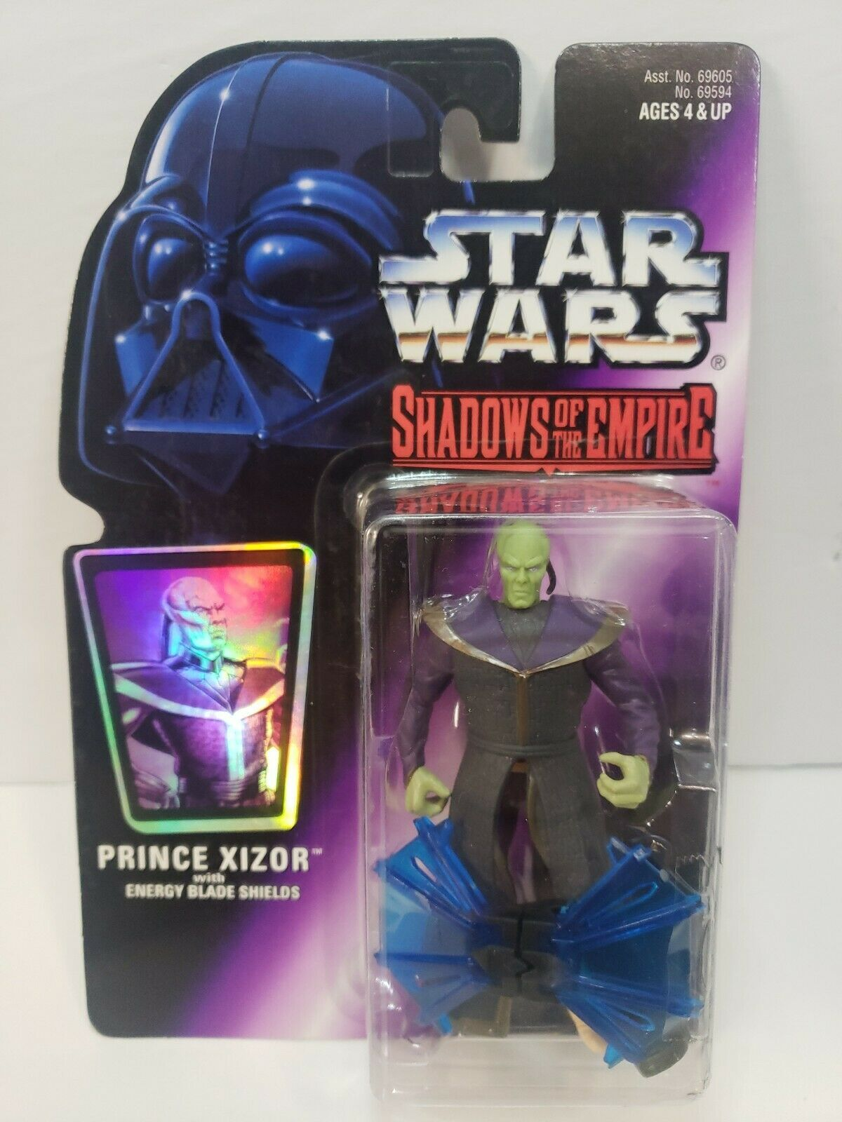 Primary image for Hasbro Star Wars: Prince Xizor w/ Energy Blade Shields - 1996 SOTE Action Figure