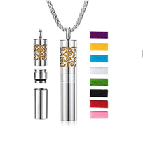 Achort Necklace With Diffuser with Essential Oils For Aromatherapy 8 Pads - $82.31
