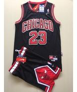 youth Chicago Bulls #23  Michael Jordan basketball jersey Black suit.jpg - $45.99