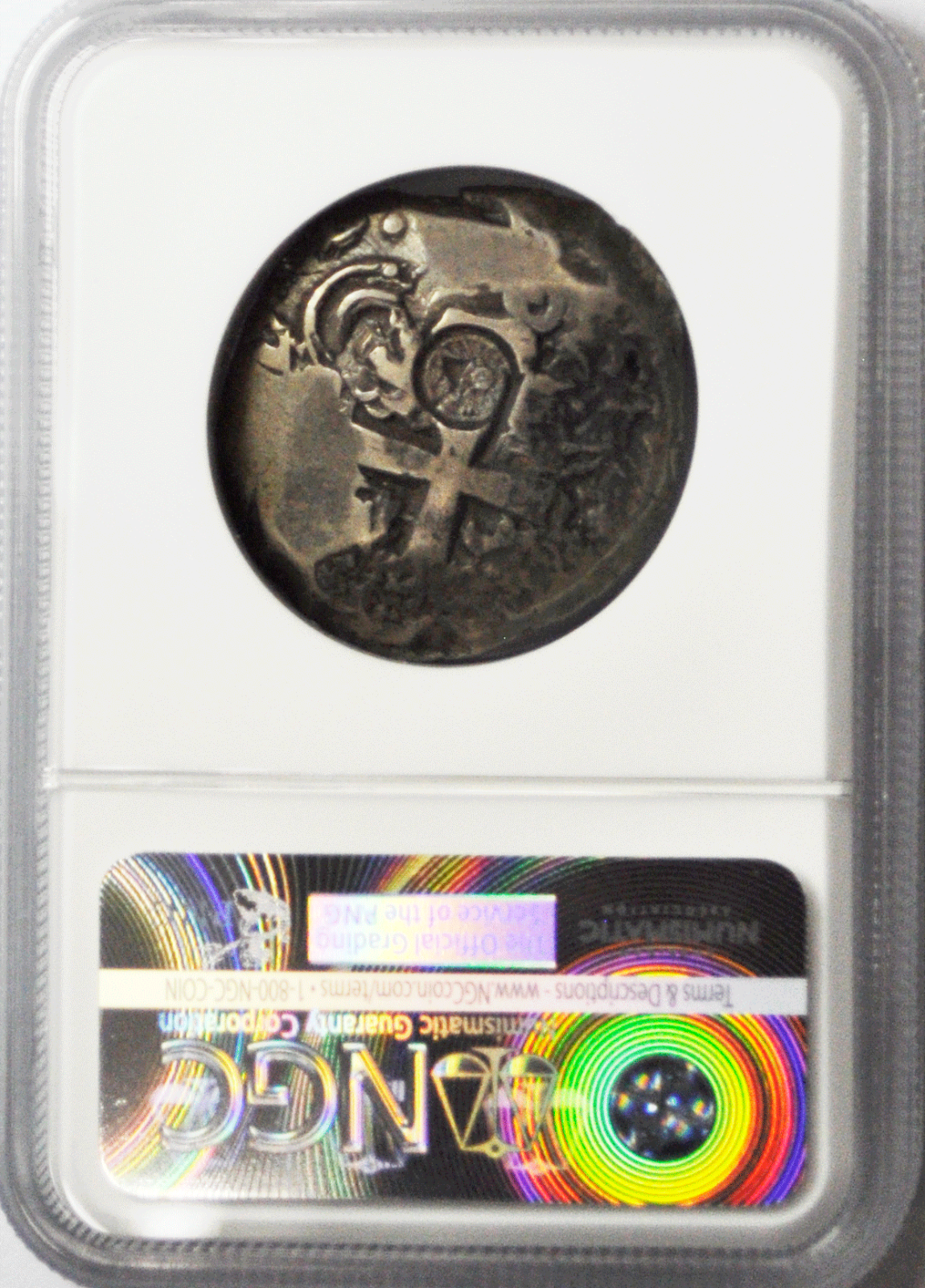 1839 Guatemala 8R T-II C/S Bolivia 8 Reales VF20 26.84g NGC Top Pop Counterstamp