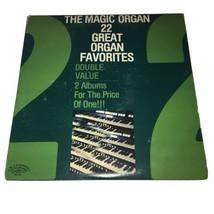 The Magic Organ - 22 Great Organ Favorites - 1978 Vinyl Double LP Recor... - £7.06 GBP