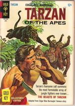 Tarzan Comic Book #157, Gold Key Comics 1966 FINE - $9.74