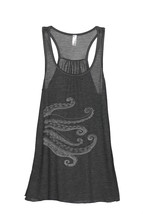 Thread Tank Octo Tenta Women's Sleeveless Flowy Racerback Tank Top Charc... - $24.99+