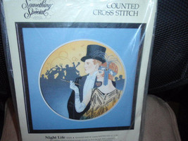 Something Special NIGHT LIFE Counted Cross Stitch Kit Designed by Lee Dubin Fini - $19.95