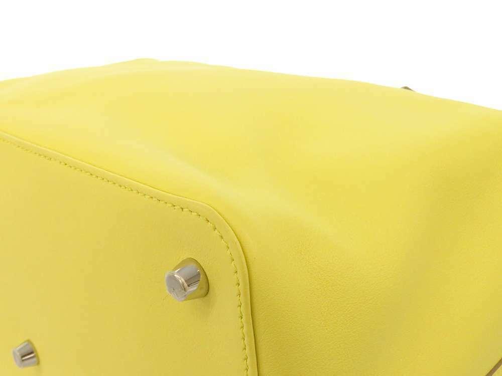 HERMES Toolbox 26 Veau Swift Soufre Handbag Shoulder Bag France #Q Authentic image 5