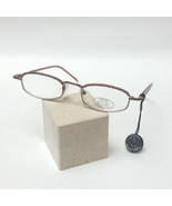 JC Jimmy Crystal New York GL180 Swarovski Reading Glasses Smoked Topaz C... - $49.99